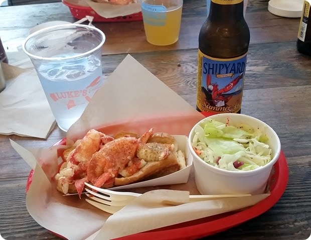 lukes lobster roll bethesda