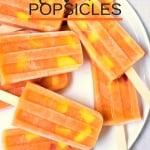 Nectarine Ice Pops Recipe