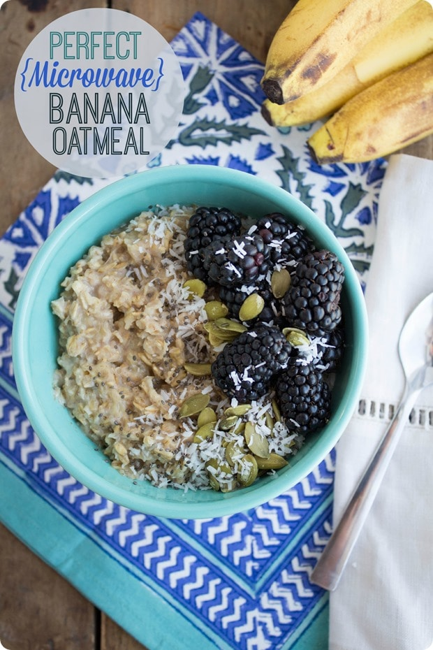 perfect banana oatmeal 1