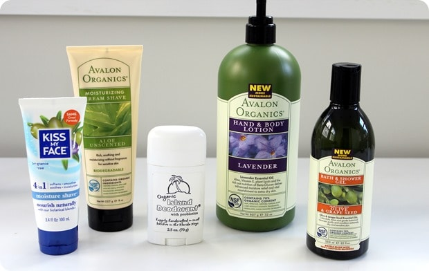 best natural organic skincare products