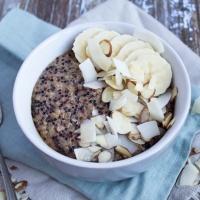 Coconut Breakfast Quinoa Bowl