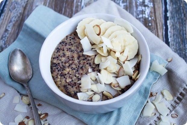 coconut breakfast quinoa 1