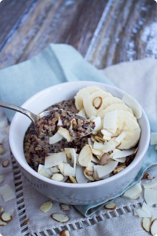 coconut breakfast quinoa 5
