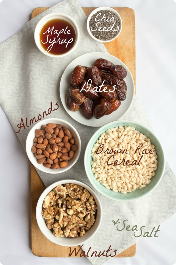 maple energy bites ingredients