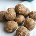Salty Maple Nut Energy Bites Recipe