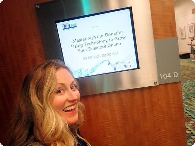 FNCE 2015 mastering your domain presentation