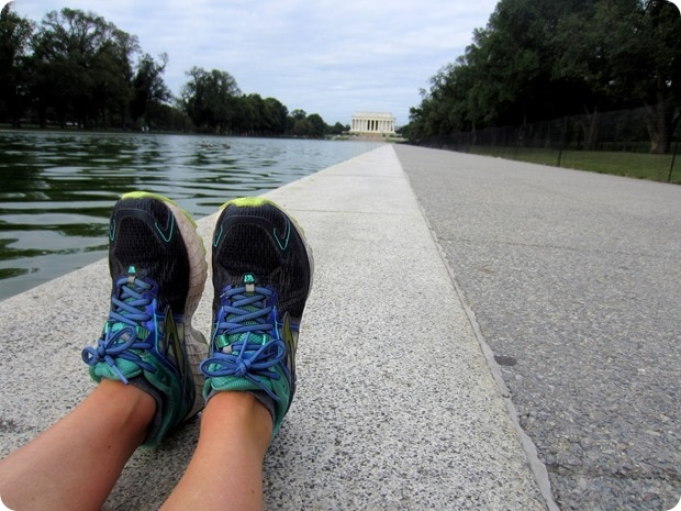 brooks shoes and lincoln memorial