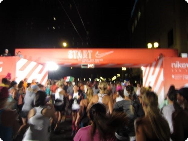 nike womens half marathon start