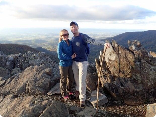 shenandoah national park hawksbill summit