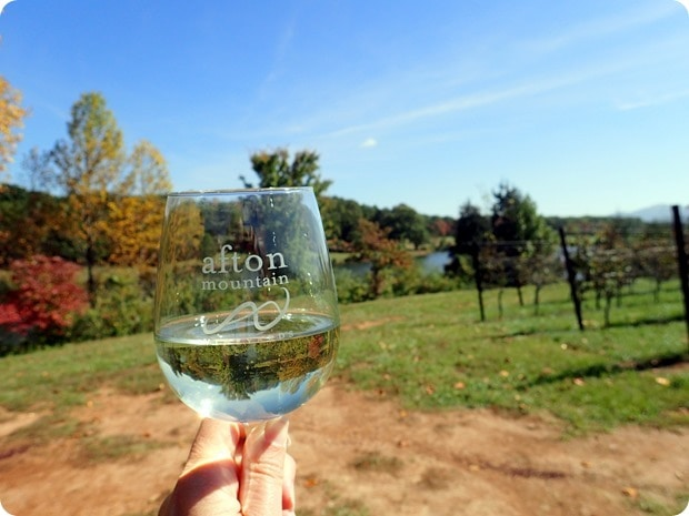 afton mountain vineyards scenery