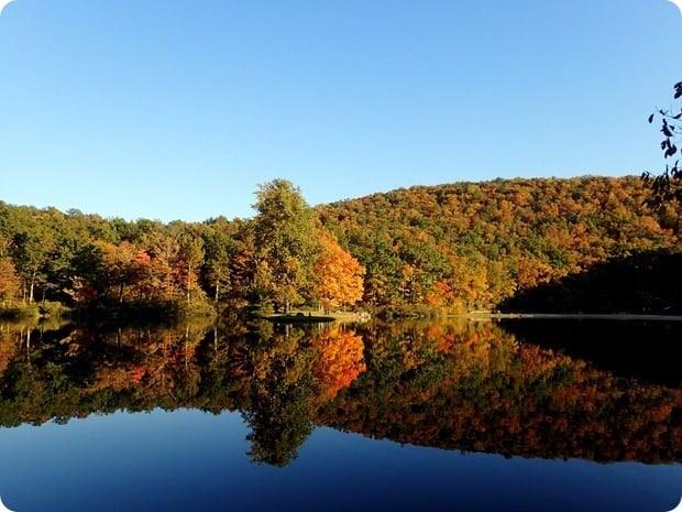sherando lake autumn