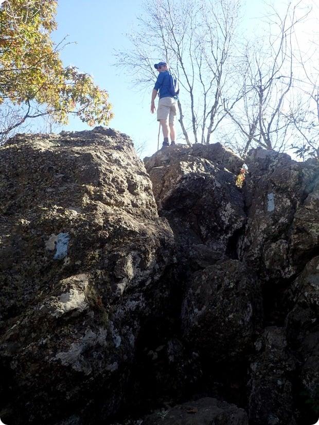 bearfence mountain rock scramble