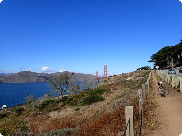biking the san francisco coast