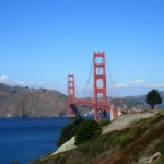 Biking the Golden Gate Bridge in San Francisco