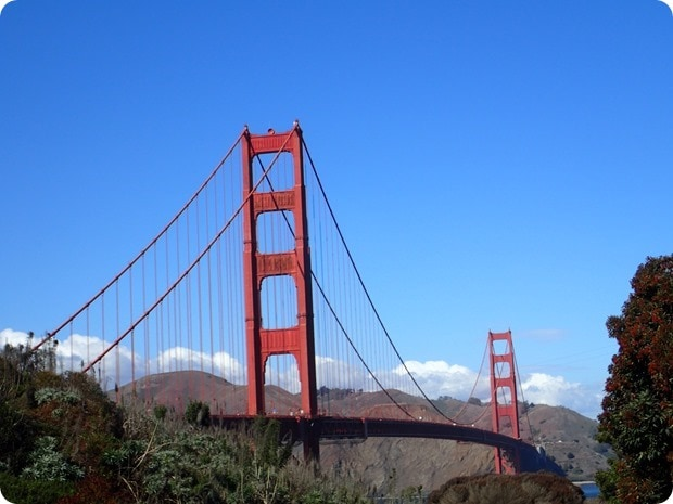 best place to see golden gate bridge