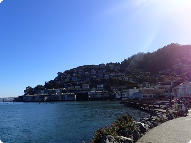 how to bike to sausalito