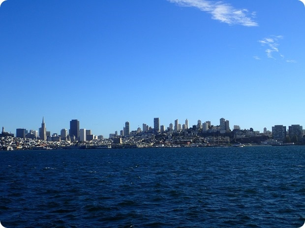 view of san francisco from ferry