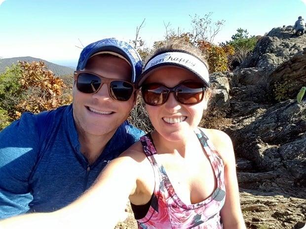 blackrock summit hiking view