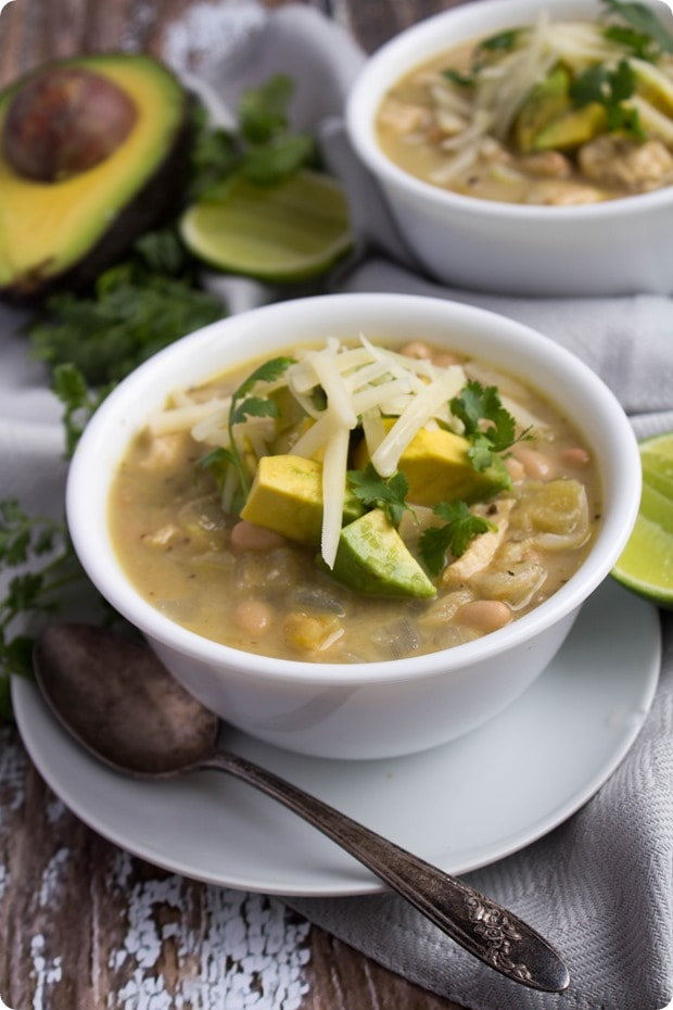 creamy mexican chicken chili 4