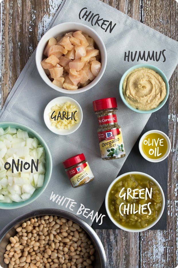 creamy mexican chicken chili ingredients
