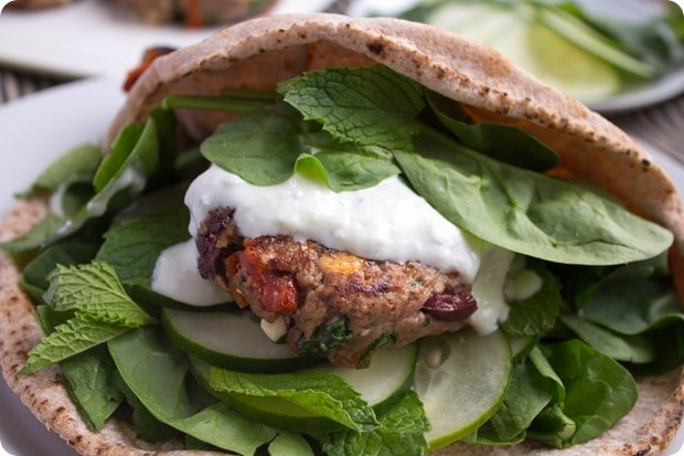 greek lamb burgers recipe