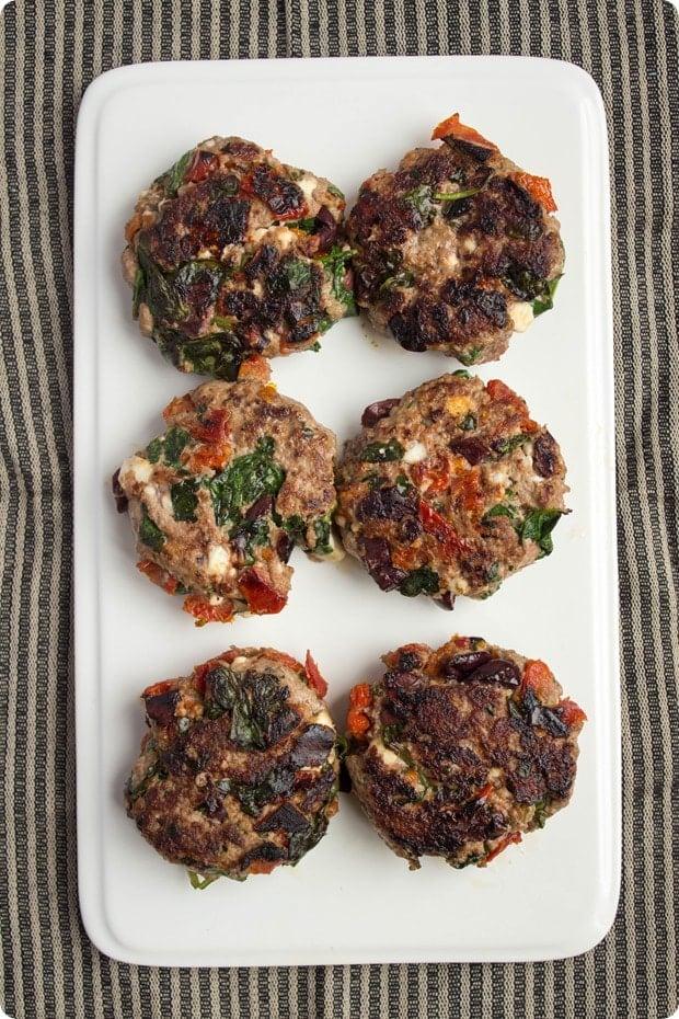 greek lamb burgers step 3