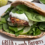 Greek Lamb Burgers Recipe
