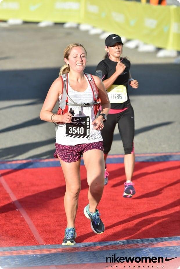 nike womens half marathon finish line san fran