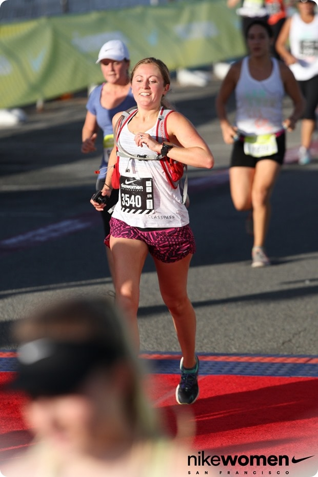 nike womens half marathon san fran finish line