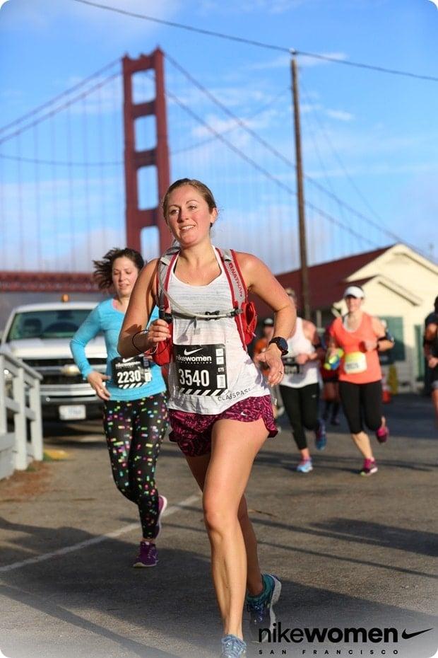 nike womens half marathon san fran golden gate