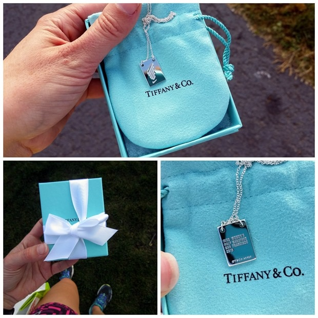 nike womens half marathon tiffanys finisher necklaces