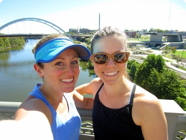 running in downtown nashville