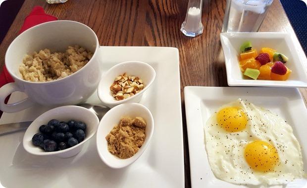the iris inn breakfast