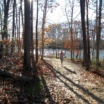 Weekend Trail Run at Burke Lake Park