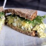Healthy Egg Salad Sandwich + Recent Workouts