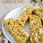 Savory Curry Granola Bar Recipe (No Bake)