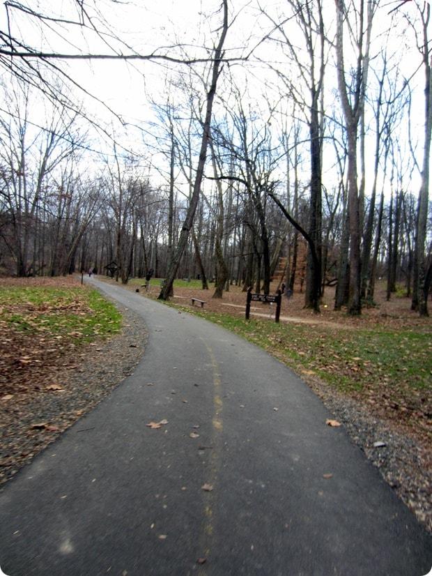 w&od trail arlington running