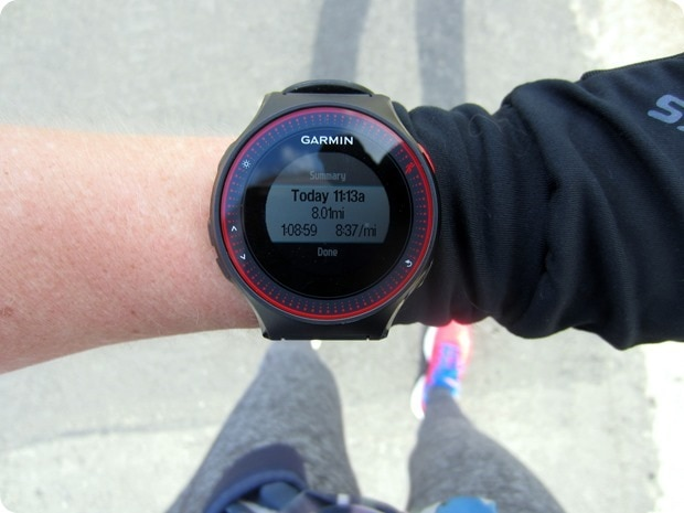 how to run 8 miles