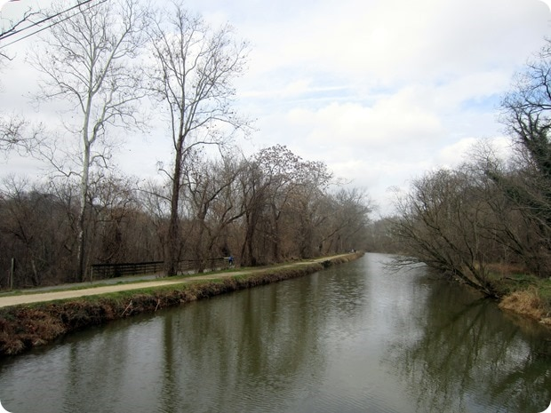 running the c&o canal