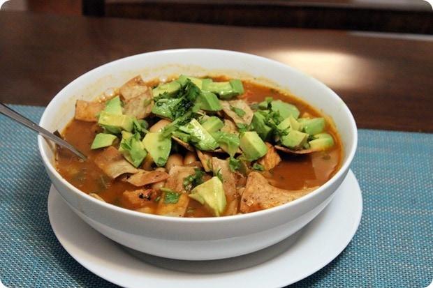 blue apron chicken tortilla soup