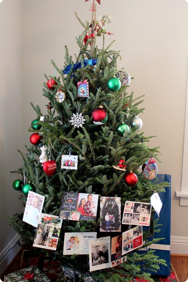 creative ways to display holiday cards