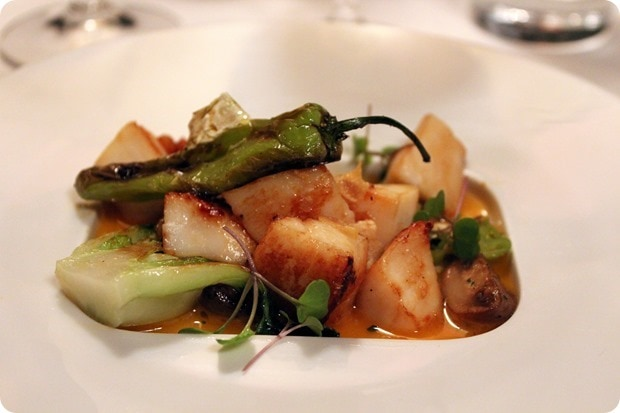 sweet and sour scallops