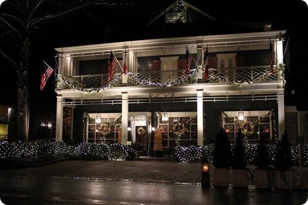 inn at little washington christmas decorations