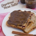 Gingerbread Pecan Butter Recipe