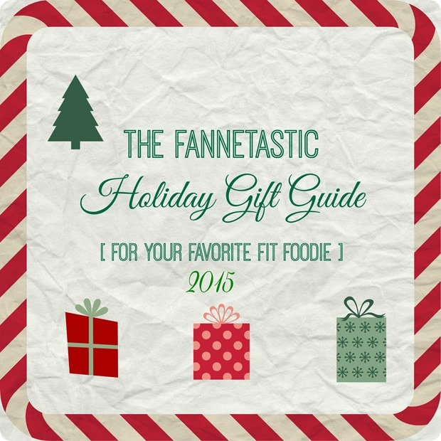 holiday gift guide for fit foodies 2015
