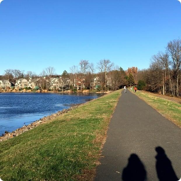 lake anne walking trails