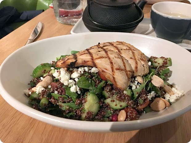 true food kitchen quinoa salmon salad