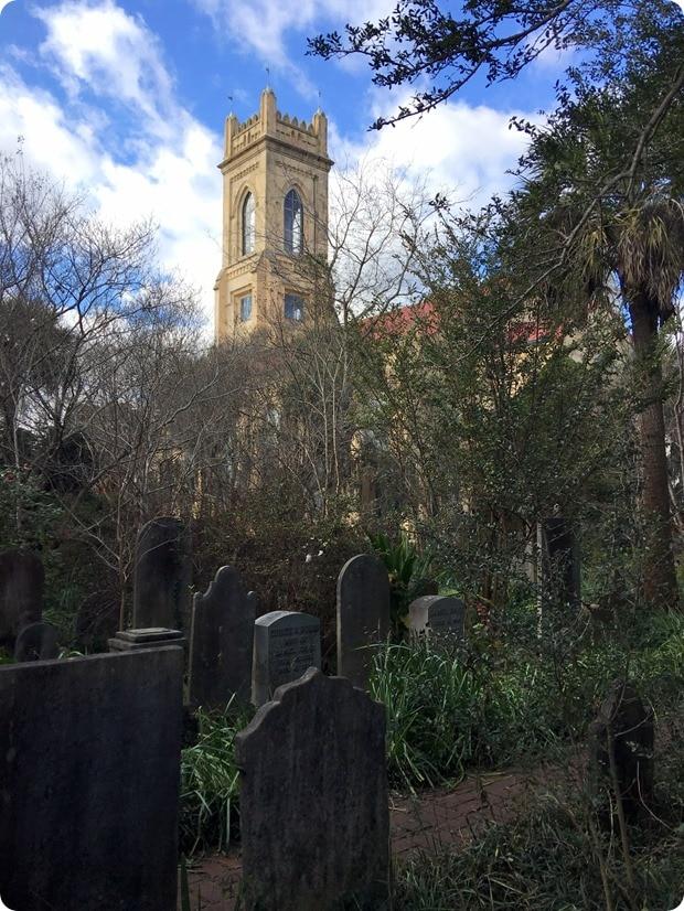 Unitarian Church graveyard charleston