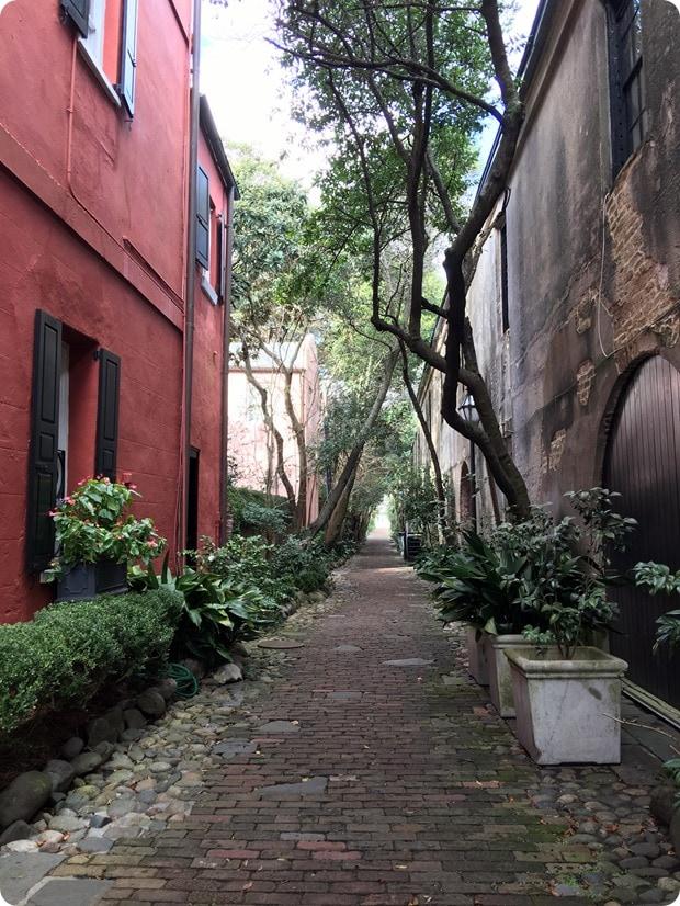 charleston cute alley