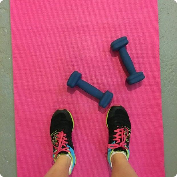 winter shape up workout